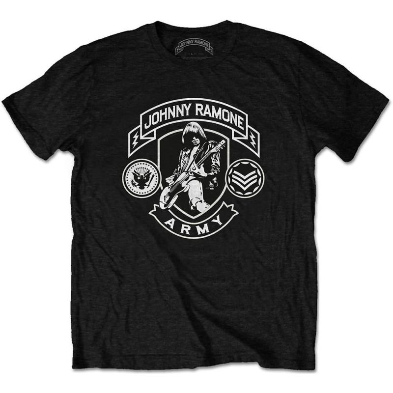 Tricou Johnny Ramone Army Logo