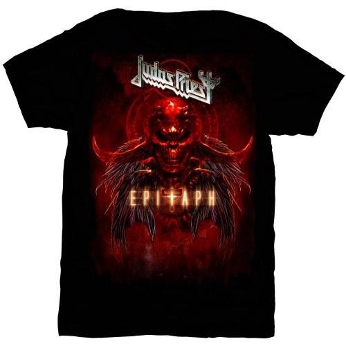 Tricou Judas Priest Epitaph Red Horns