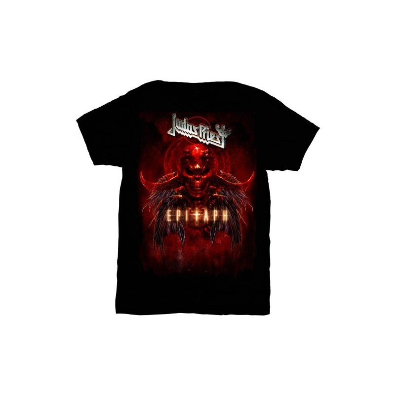 Tricou Judas Priest Epitaph Red Horns