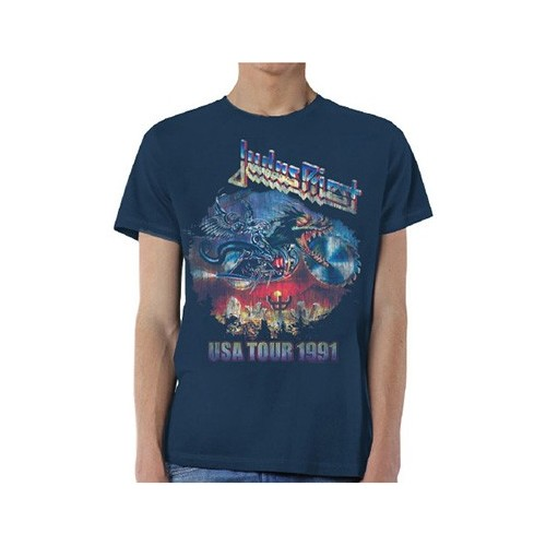 Tricou Judas Priest Painkiller US Tour 91