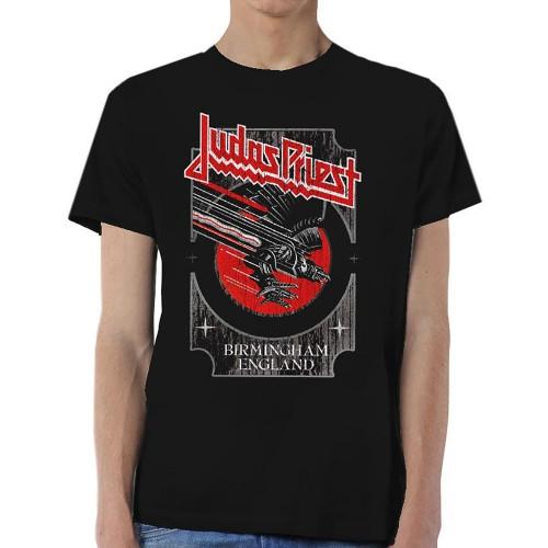 Tricou Judas Priest Silver and Red Vengeance
