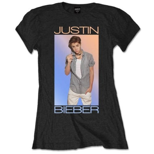 Tricou Damă Justin Bieber Colour Fade