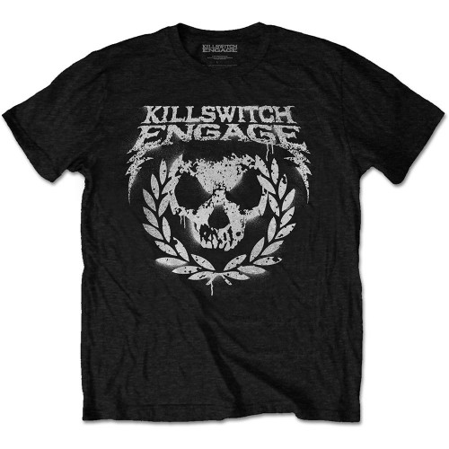 Tricou Killswitch Engage Skull Spraypaint