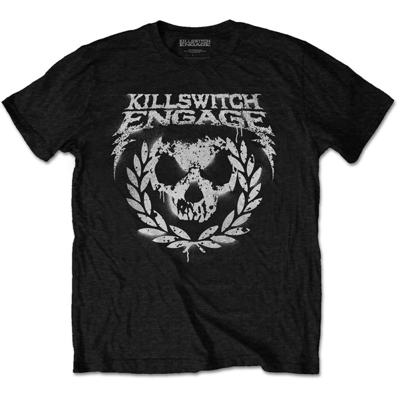 Tricou Killswitch Engage Skull Spraypaint