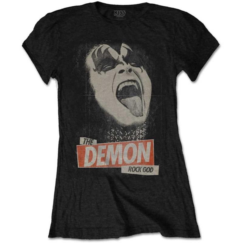 Tricou Damă KISS The Demon Rock