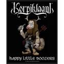 Patch Korpiklaani Happy Little Boozers