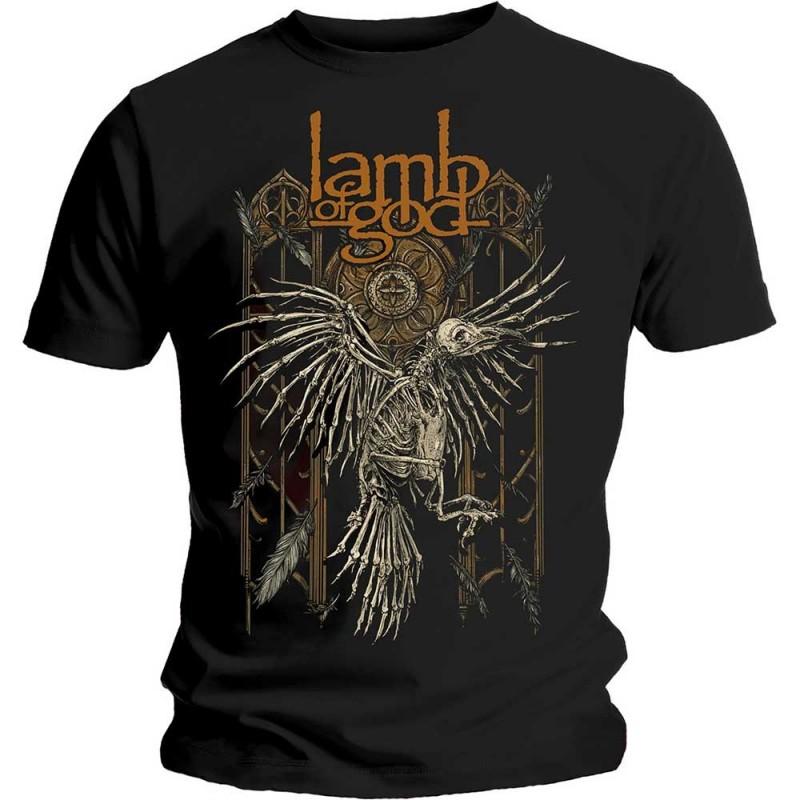 Tricou Lamb of God Crow