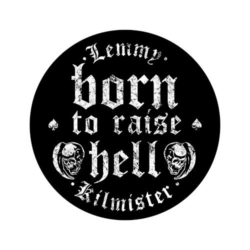 Back Patch Lemmy Born to Raise Hell