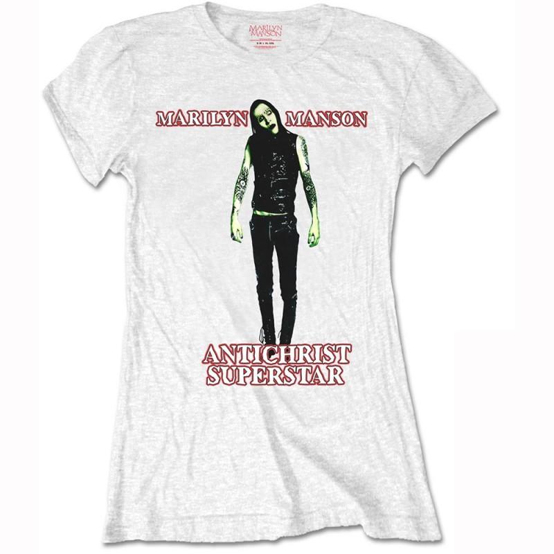 Tricou Damă Marilyn Manson Antichrist