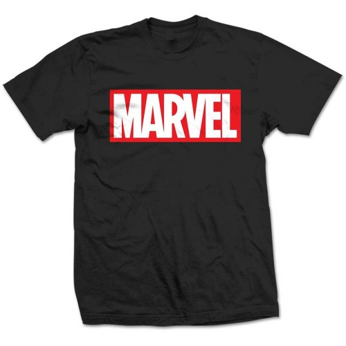 Tricou Marvel Comics Box Logo