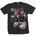 Tricou Marvel Comics Deadpool Strips