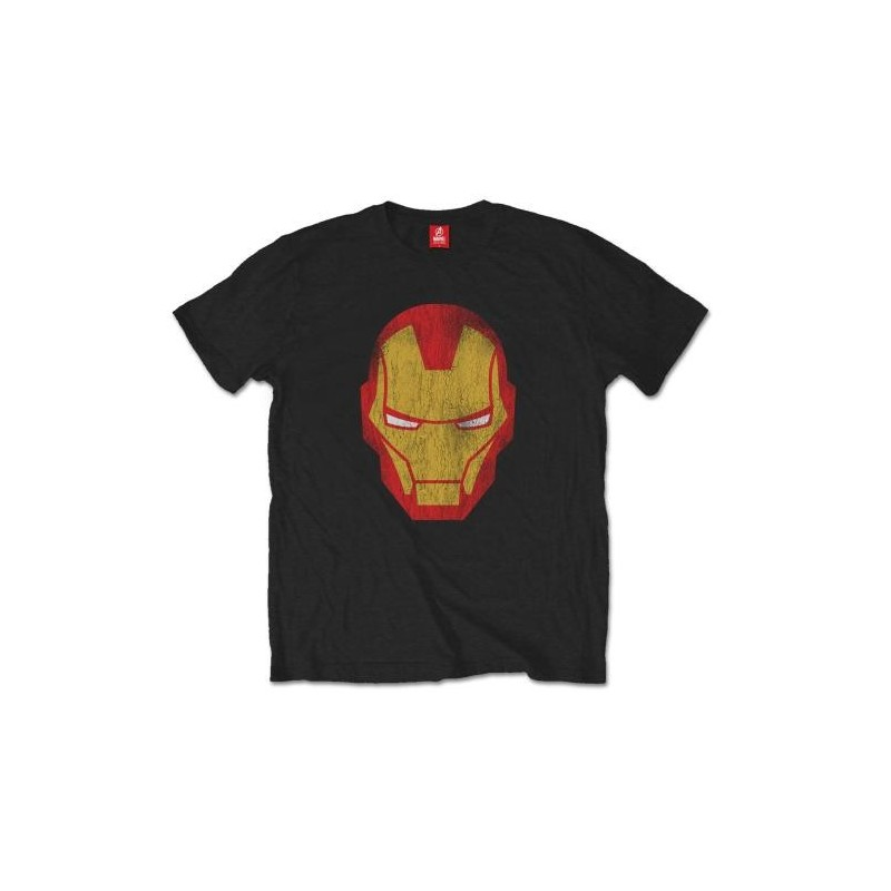 Tricou Marvel Comics Iron Man Distressed