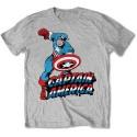 Tricou Marvel Comics Simple Captain America
