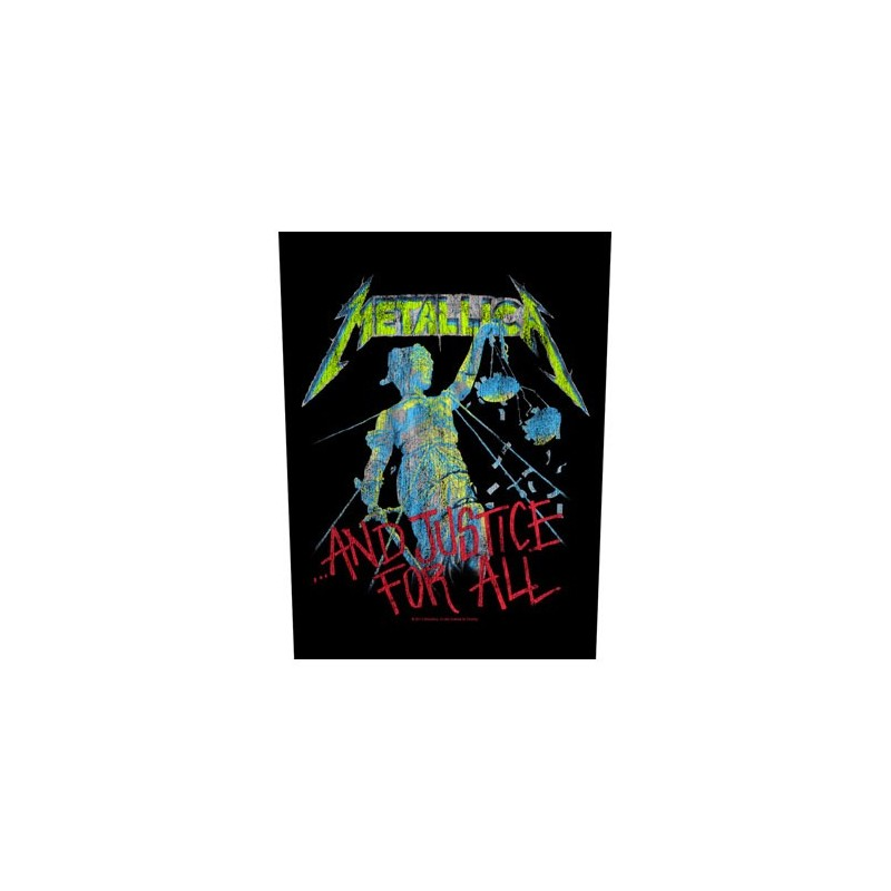 Back Patch Metallica And Justice for All