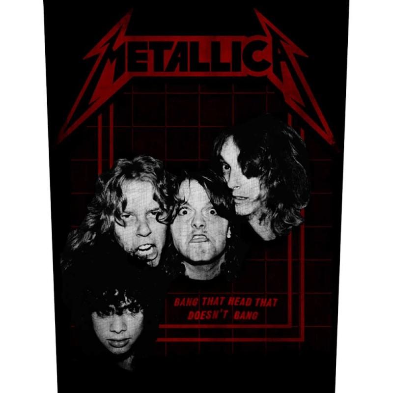 Back Patch Metallica Bang That Head