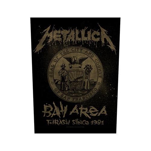 Back Patch Metallica Bay Area Thrash