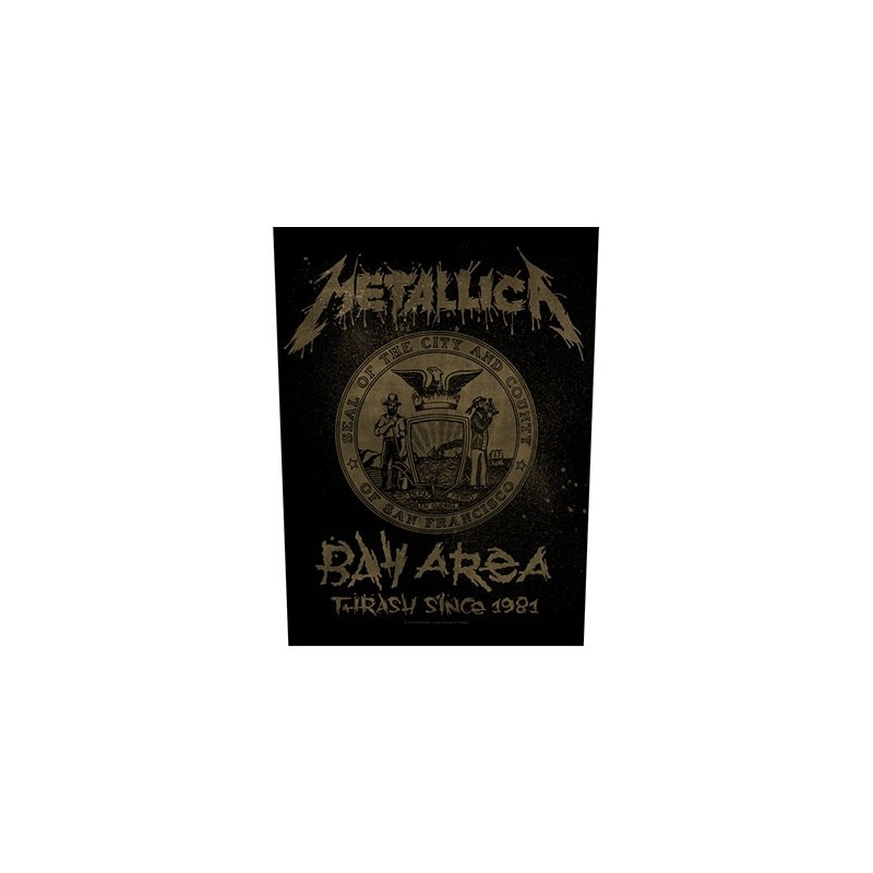 Back Patch Metallica Bay Area Thrash