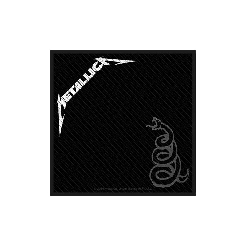 Patch Metallica Black Album