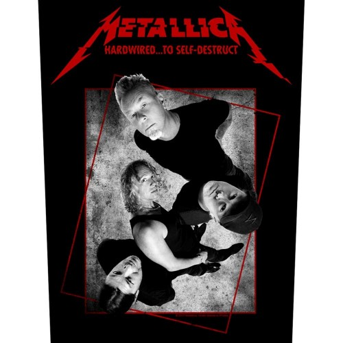 Back Patch Metallica Hardwired Concrete