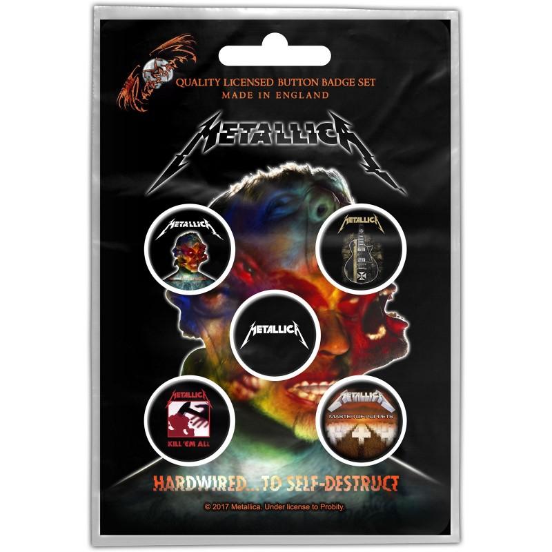 Set Insigne Metallica Hardwired to self-destruct