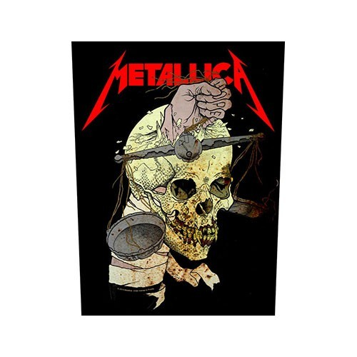 Back Patch Metallica Harvester of Sorrow