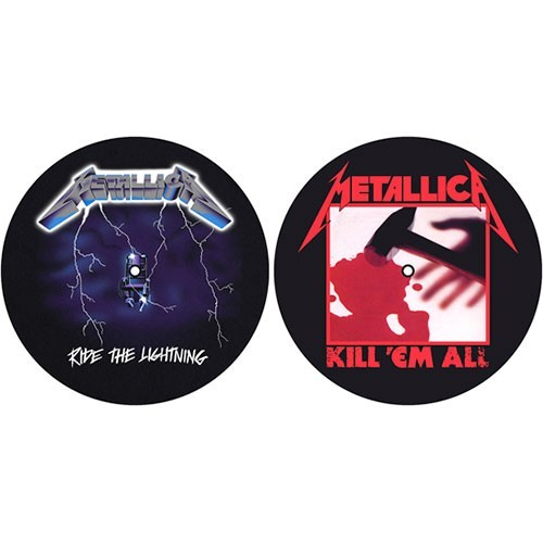 Set Slip Mat Vinyl Metallica Kill 'em all / Ride the Lightning