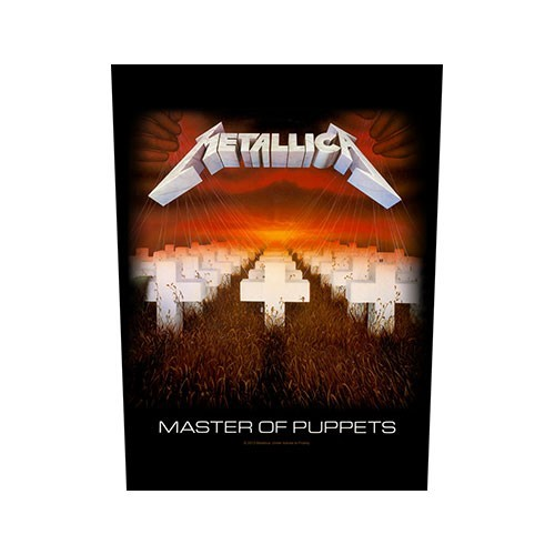 Back Patch Metallica Master of Puppets