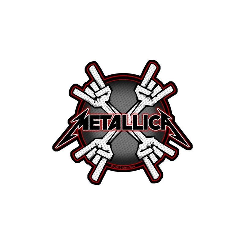 Patch Metallica Metal Horns