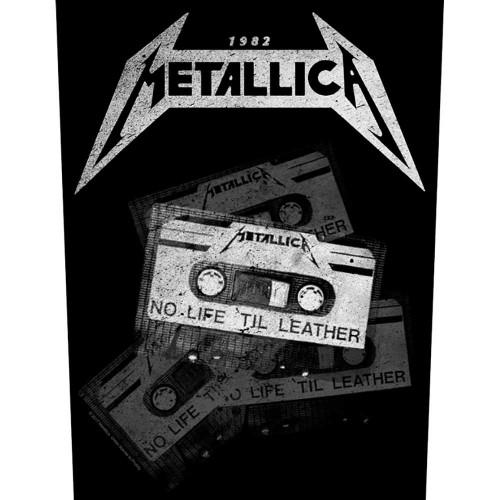Back Patch Metallica No Life 'Til Leather