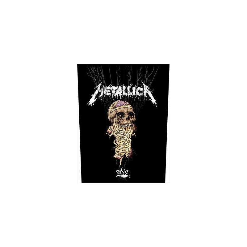 Back Patch Metallica One / Strings