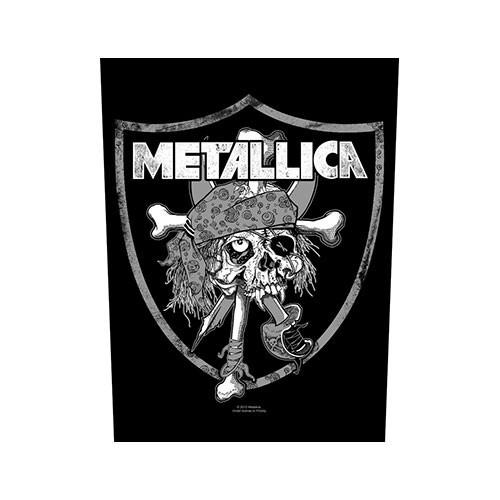 Back Patch Metallica Raiders Skull