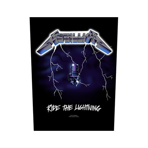Back Patch Metallica Ride the Lightning