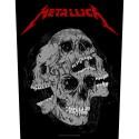 Back Patch Metallica Skulls