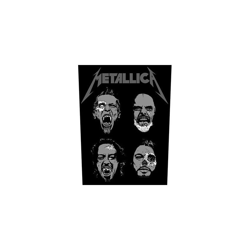 Back Patch Metallica Undead