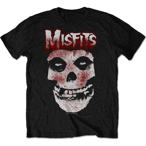 Tricou Misfits Blood Drip Skull