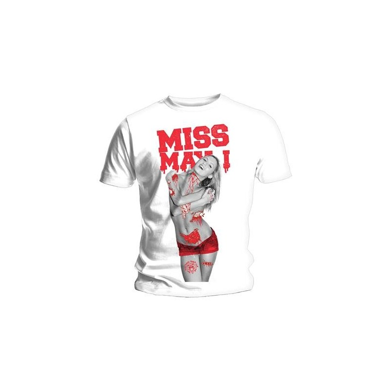 Tricou Miss May I Gore Girl