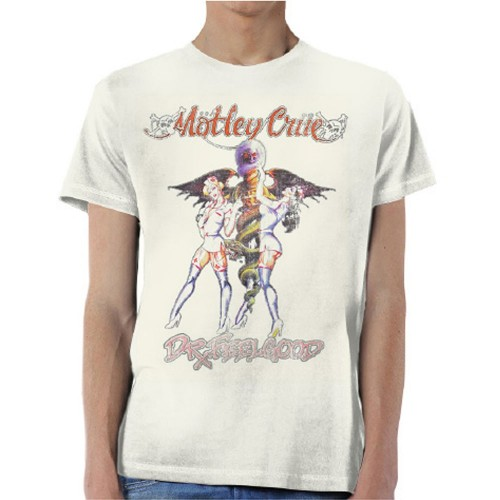 Tricou Motley Crue Dr Feelgood Vintage