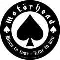 Back Patch Motorhead Born To Lose