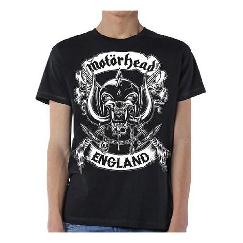 Tricou Motorhead Crossed Swords England Crest