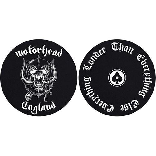 Set Slip Mat Vinyl Motorhead England / Louder