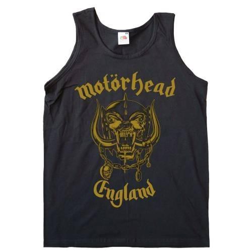 Maiou Damă Motorhead England Gold