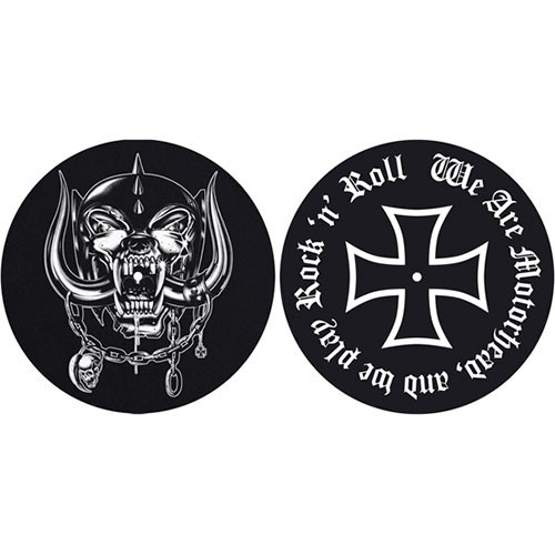 Set Slip Mat Vinyl Motorhead We are Motorhead
