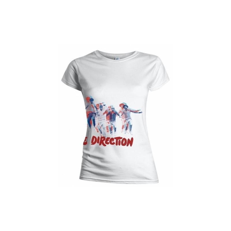 Tricou Damă One Direction Band Jump