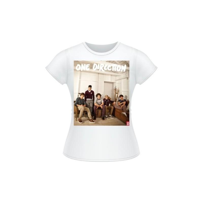 Tricou Damă One Direction Band Lounge Colour