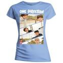 Tricou Damă One Direction Band Sliced