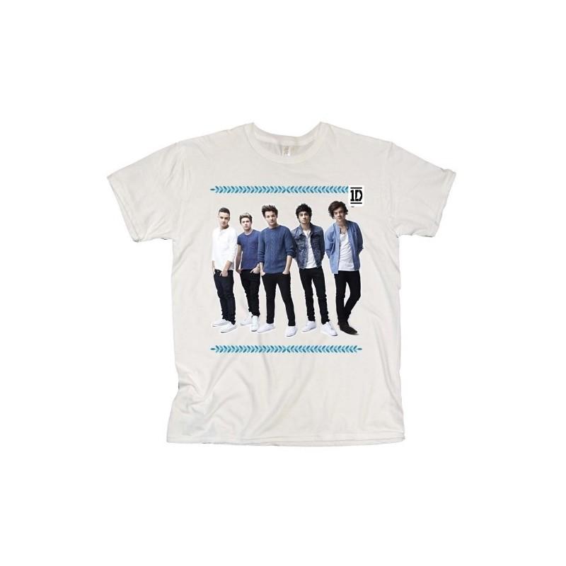 Tricou Damă One Direction College Wreath