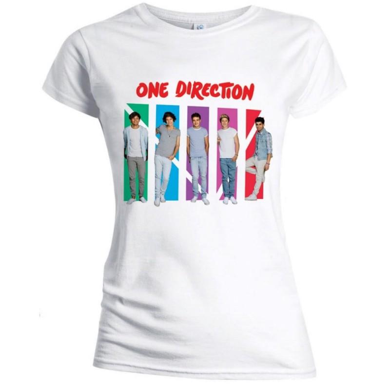 Tricou Damă One Direction Colour Arches
