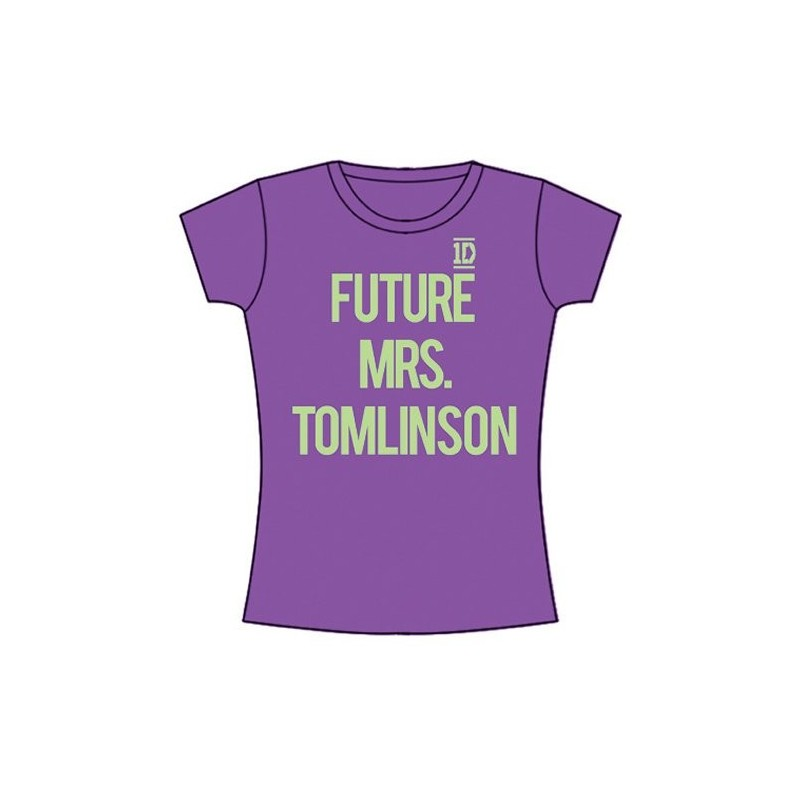 Tricou Damă One Direction Future Mrs Tomlinson