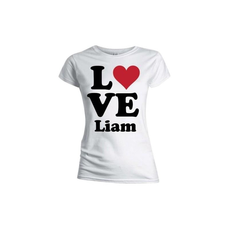 Tricou Damă One Direction Love Liam