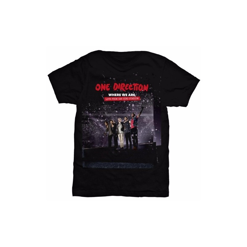 Tricou Damă One Direction San Siro Movie